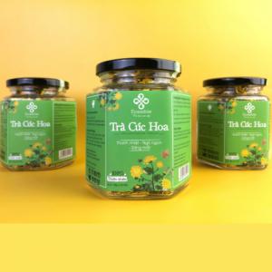 Combo 3 lọ trà hoa cúc sấy lạnh