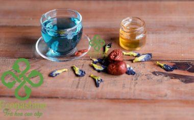 Trà đậu biếc sấy lạnh nguyên bông – Mua trà đậu biếc khô sấy lạnh