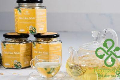 Các loại trà hoa nhài đang lưu hành trên thị trường