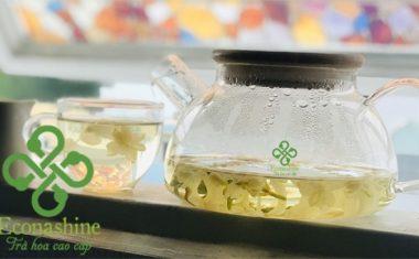 Hướng dẫn cách pha trà hoa nhài thơm ngon chuẩn vị
