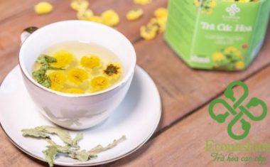 Hướng dẫn cách pha trà hoa cúc thơm ngon, đơn giản tại nhà
